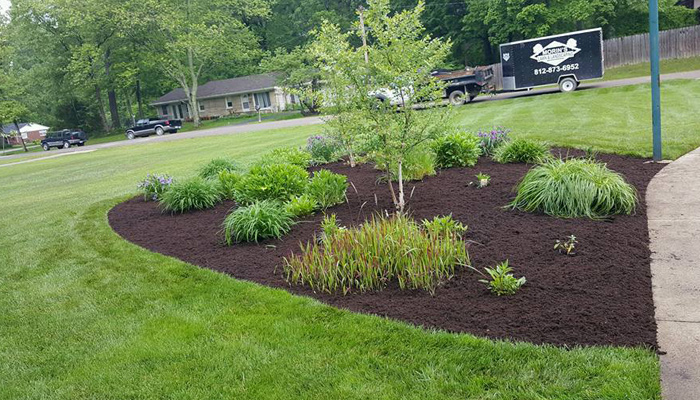 Landscaping North Vernon